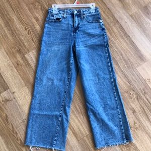Wild Fable Wide Leg/high Waist Denim